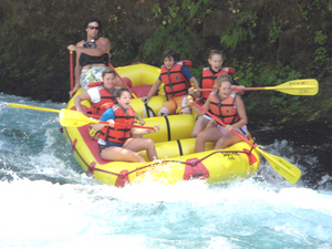 Two Day Overnight McKenzie River Whitewater Rafting