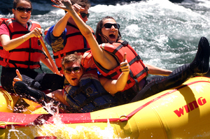 Full Day McKenzie River Whitewater Rafting 22 miles